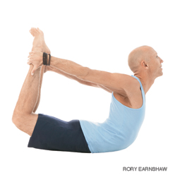 Men's yoga pose